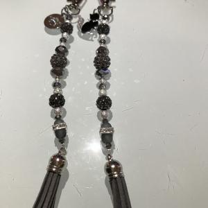 Burhänge Singles Silver Grey