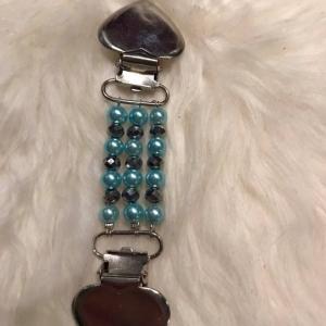 Nummerlappshållare Beads